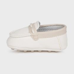 Pantofi piele Melania crem