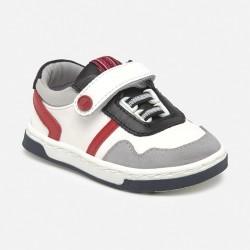 Pantofi din piele ecologica de scoala