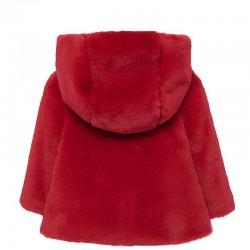 Palton fete imblanit MAYORAL 2429M spate rosu