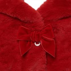 Palton fete imblanit MAYORAL 2429M funda rosie