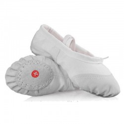 Cipici balet, flexibili, pantofi balet alb