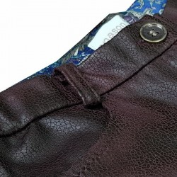 Pantaloni fete piele ecologica 3005I